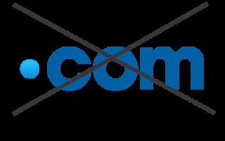 ¿Qué hacer si el dominio .com ya está registrado?