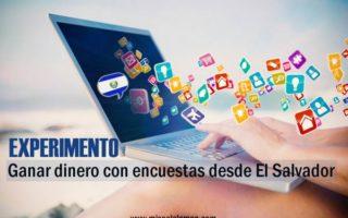 Ganar dinero con encuestas desde El Salvador