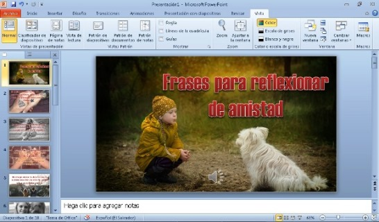 Crear videos para Youtube en PowerPoint
