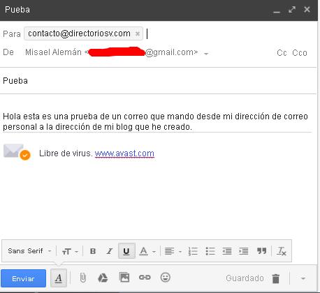 Correo con dominio propio en gmail