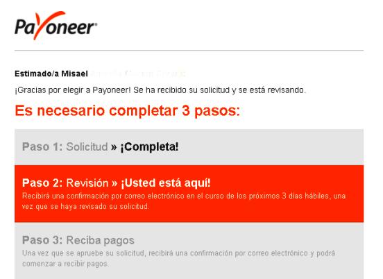 Cómo crear una cuenta Payoneer en El Salvador revisión