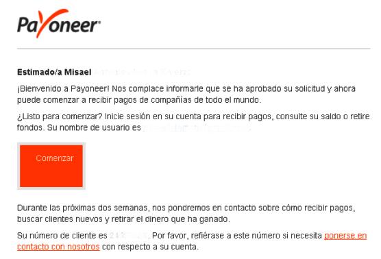 Cómo crear una cuenta Payoneer en El Salvador aprobación