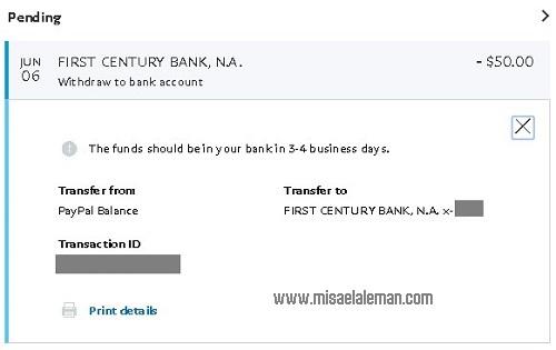 Transferir fondos de Paypal a Payoneer