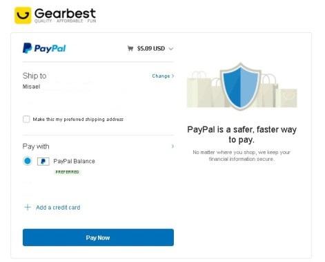 Comprando en Gearbest desde El Salvador