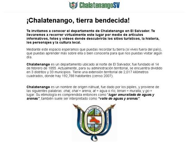 ChalatenangoSV