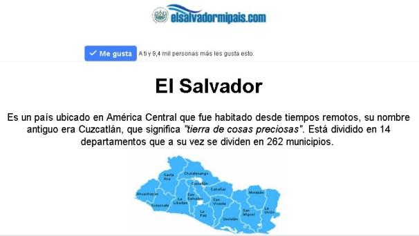 El Salvador mi país