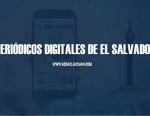 Periódicos digitales de El Salvador